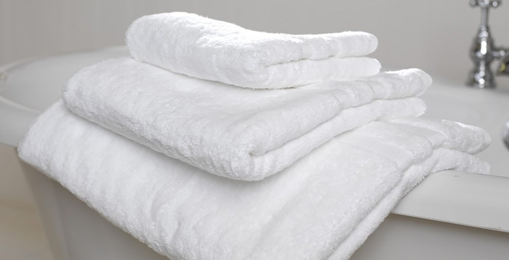 White Egyptian Cotton Towels Feather Amp Black
